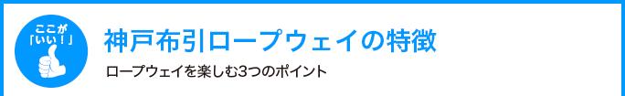 神戸布引ロープウェイの特徴