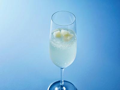 フローズンスパークリングワイン(グレープフルーツ果実入り) イメージ